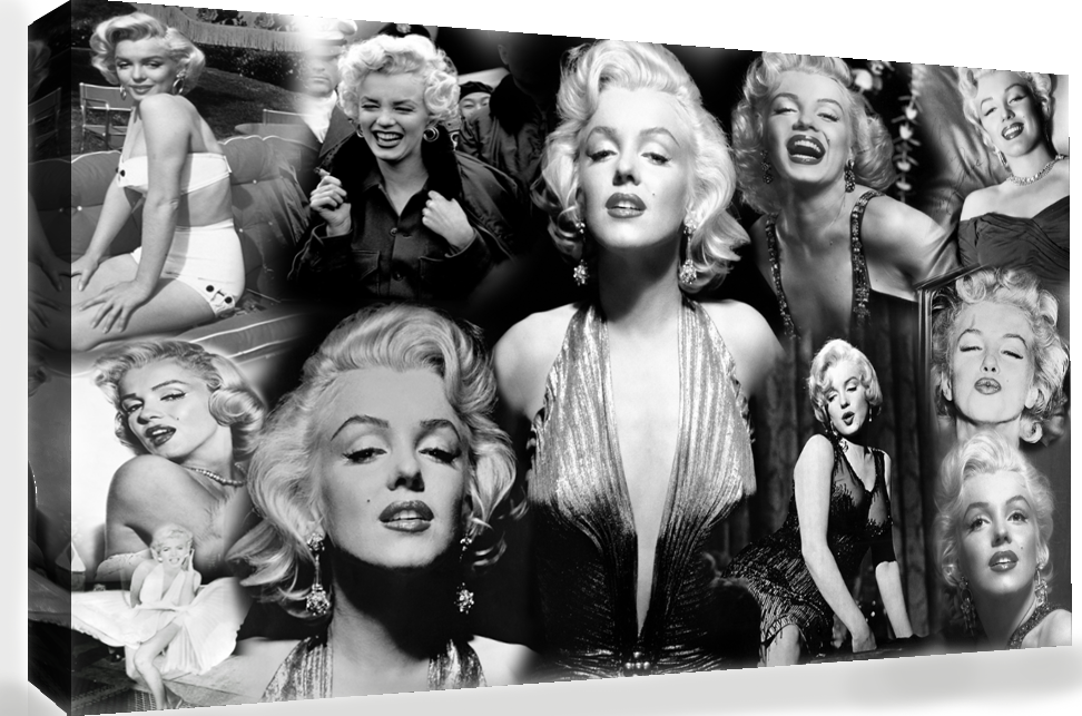 the gallery for gt marilyn monroe collage poster