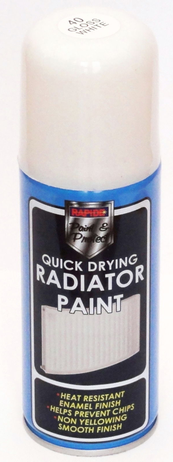 ultra tough drying radiator pipe paint 200ml white spray can ebay. Black Bedroom Furniture Sets. Home Design Ideas