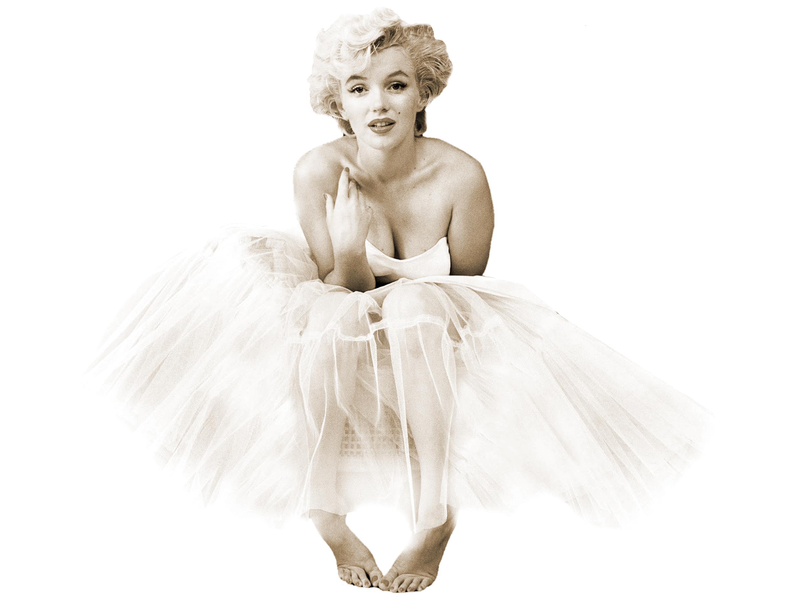 Marilyn Monroe-Ballerina Icon Canvas Wall Art Picture Print - A0, A1 ...